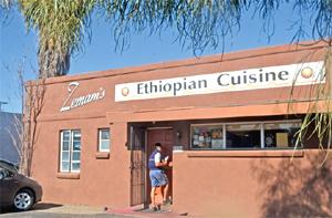 Zemams Ethiopian Cuisine (Photo: Max Efrein)