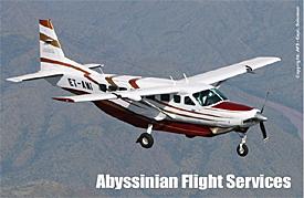 Abyssinian Flight Services (Photo: Capt. Solomon Gizaw)