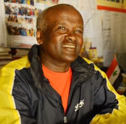 Coach Sentayehu Eshetu (Photo: CNN.com)