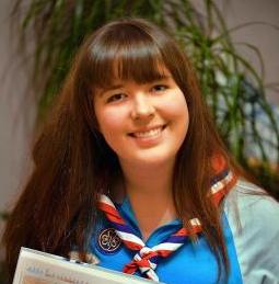 Guide Megan Clifford (Photo: Telegraph & Argus)
