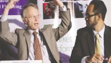 Dennis Weller (left) and Anteneh Assefa