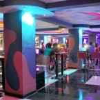 The interior of the new club, Yougovia, is spacious and painted with vibrant colors (Photo: AddisFortune.com)