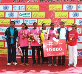CHOICE Women First 5km (Photo: Great Ethiopian Run)
