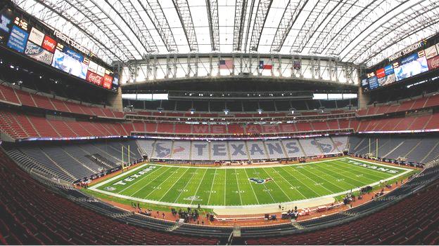Reliant Stadium in Houston, Texas