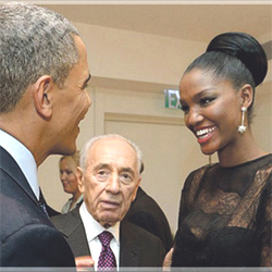 Titi Yityish Aynaw meeting President Obama
