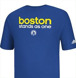 Adidas T-shirt for Boston Marathon Charity