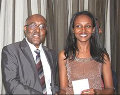 Ayalew Zegeye (left) and  Adey Abeba Tadesse of Aba Consulting Architects (photo: CapitalEthiopia.com)