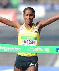 Boru Tadese of Ethiopia (Photo: Jiro Mochizuki)