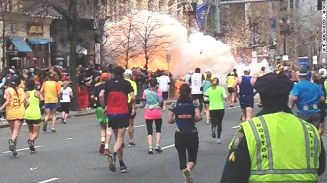 Deadly attack at Boston Marathon (Photo: CNN.com)
