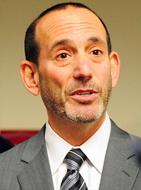 MLS Commissioner Don Garber (photo: Sports Illustrated)