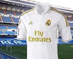 Read Madrid's Jersey with the Emirates logo (Image via blogspot.com)