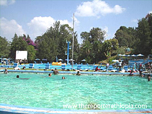 Ghion Hotel Swimming Pool
