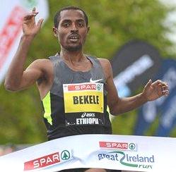Kenenisa Bekele Dublin