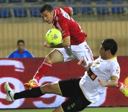 Al Ahly vs CA Bizertin (Photo: CafOnline.com)