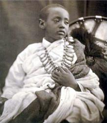 Prince Alemayehu Tewodros (Photo:  Julia Margaret Cameron.)