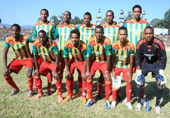 Ethiopian National Soccer Team