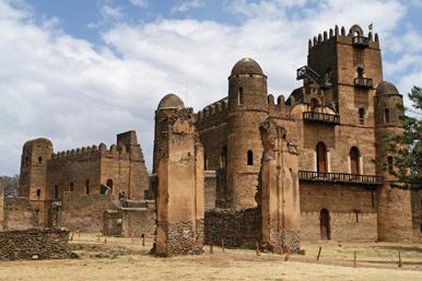 Fasiledes Palace Gondar
