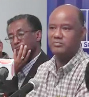 Ashenafi Ejigu (left) and Berhanu Kebede