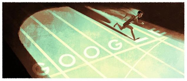 Abebe Bikila Google Doodle