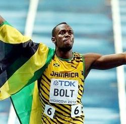 Usain Bolt 100