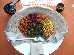 Vegeterain Platter