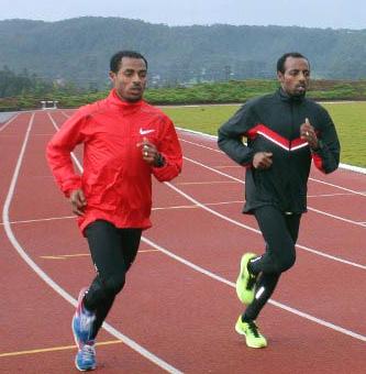 Kenenisa Sululta Training
