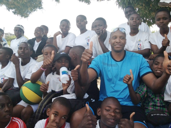 Masai Ujiri in Tanzania (Photo: NBA.com)