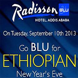 Radisson Blu Ethiopian New Year