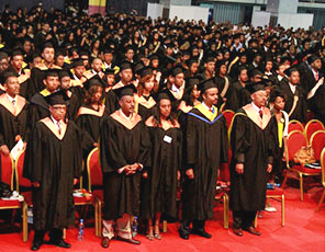 1, 241 students graduate from Unity University