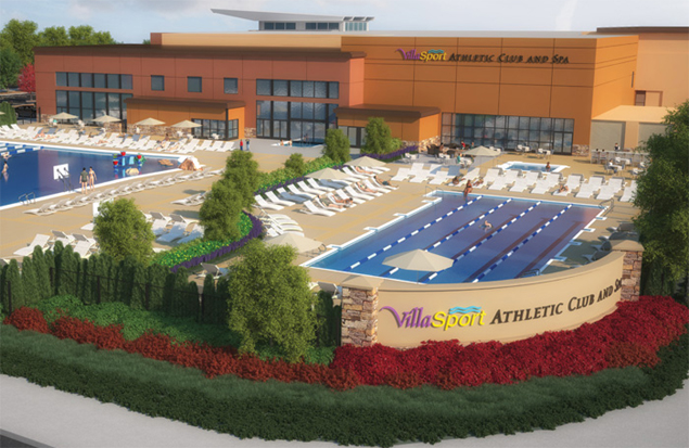 VillaSport Athletic Club and Spa in Beaverton, Oregon (Photo: Courtesy of VillaSport)