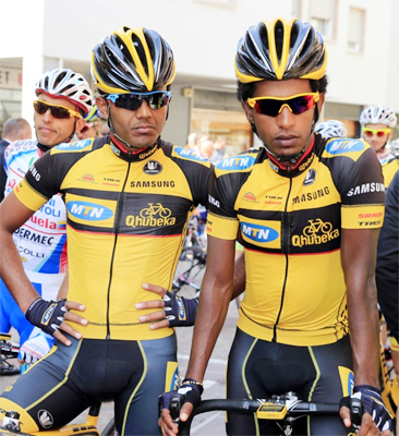 Historic day for African cycling