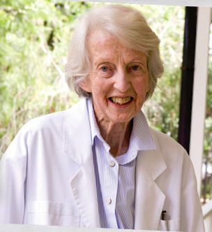 Dr. Elinor Catherine Hamlin (Photo: hamlin.org.au)