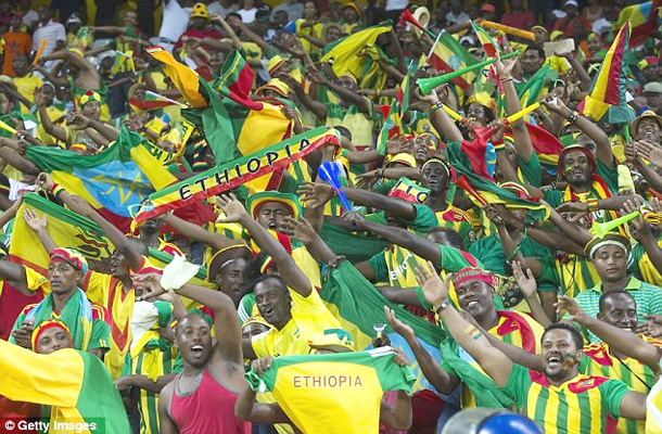 Ethiopian Fans South Africa