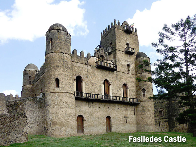 Deeper into Atse Fasiledes Castle