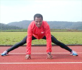 """""""I want to run a world record in my first marathon"""", Kenenisa Bekele"""