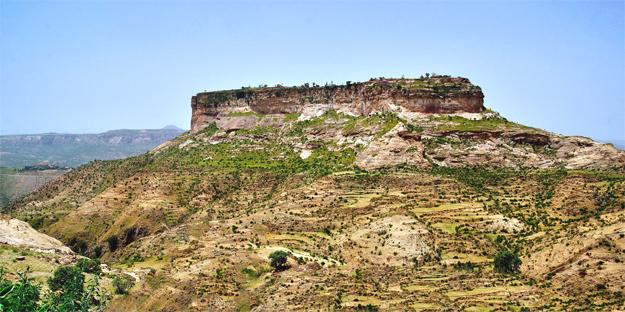 Monastery at Debre Damo (Photo: africanarguments.org/)