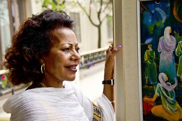 Desta Hagos (Photo: courtesy of afrikanwomen.tumblr.com)
