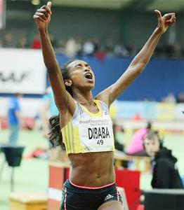 Genzebe Dibaba (Photo: Gladys Chai Van der Laage)