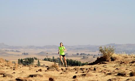 Julia Bleasdale training in Ethiopia. Photograph: Julia Bleasdale