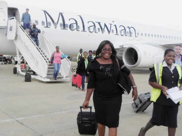 Ethiopian Strategic Partner, Malawian Airlines, Launches 1st International flight to Johannesburg