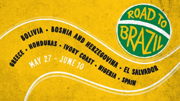 Road to Brazil