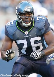 Pro Bowler and NFC Champion Seattle Seahawk Russell Okung