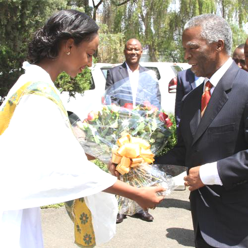 Former South Africa President Thabo Mbeki (Photo: Courtesy of Ethiopian Airlines)