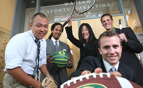 Warsaw Sports Marketing (Photo: Courtesy of University of Oregon)