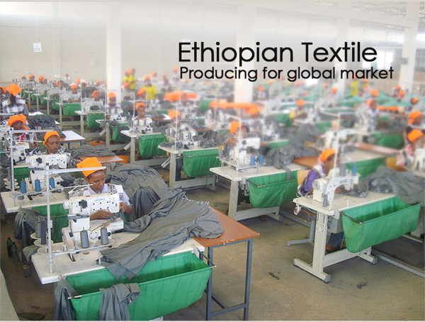 Ethiopian Textile producing for a global market
