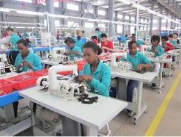 Ethiopian textile export