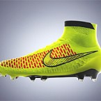 Nike introduces soccer cleat with Flyknit woven upper