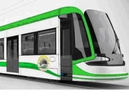 Addis Light Rail Train
