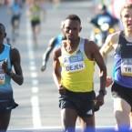 Dejen Gebremeskel wins BAA 5K Race