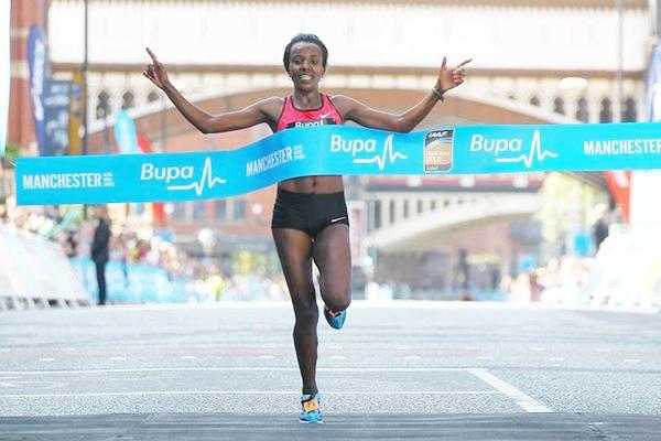 Tirunesh Dibaba, Great Manchester Run